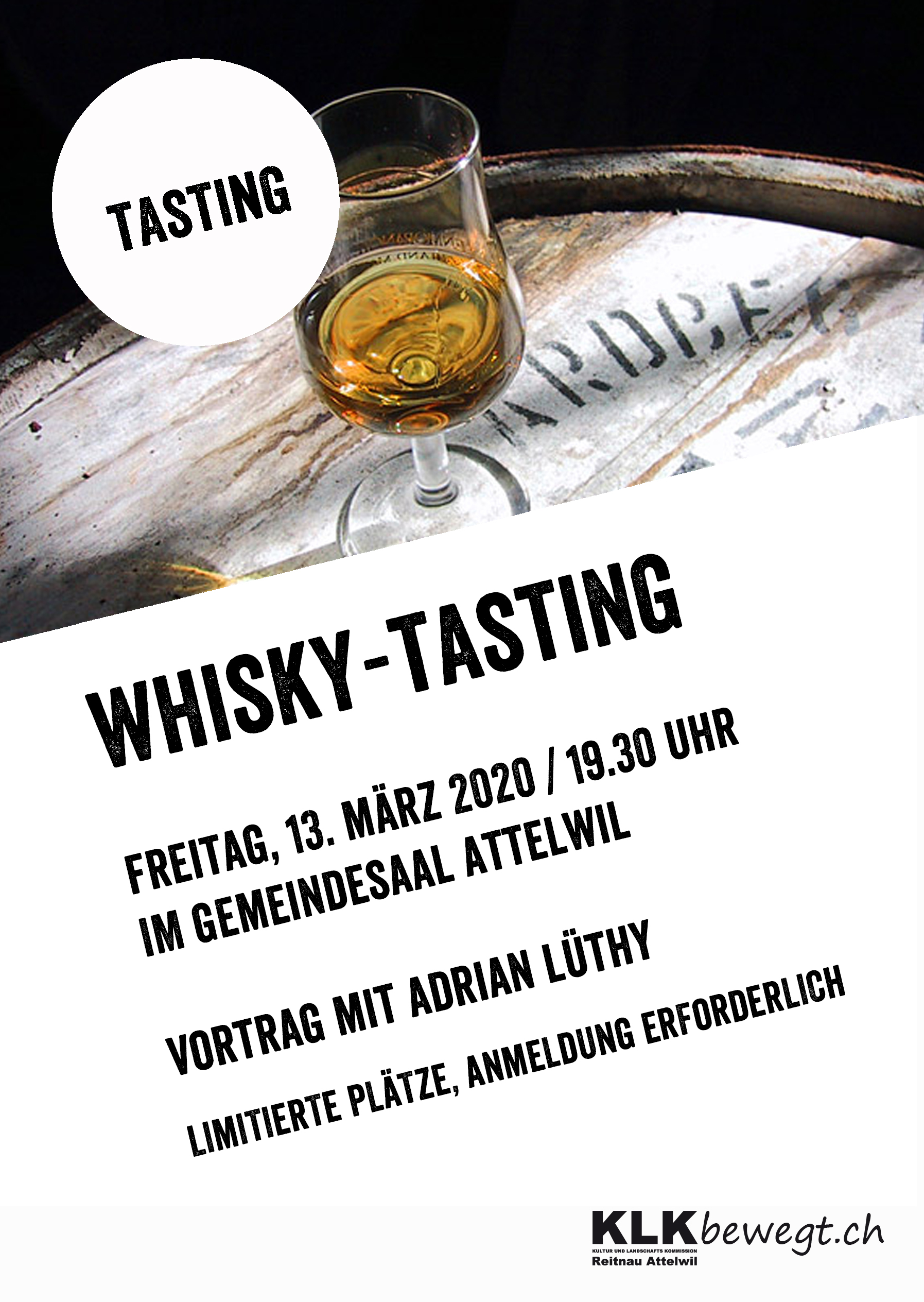 flyer whiskytasting